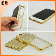 2015 PC Electroplate Crystal Case Cover for iphone 6