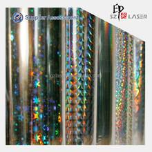 12micron pet metallized film with free design