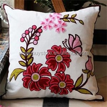 New Fashion High Quality Embroidery Cotton Pillow, Living Room Sofa Decoration Cushion Cover