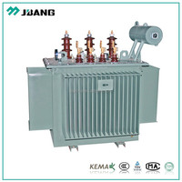 pole mounted 10kv 11kv 63kva high voltage 3 phase oltc oil immersed power transformador factory price