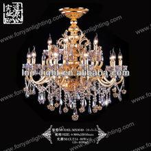 contemporary candle art deco lighting fixtures MXG3049-10+5+5