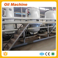 Small Scale Palm Oil Refinery Machine Peanut Oil Cooking Oil Refining Plant