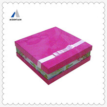 Mountain new product wedding invitation box indian sweet boxes for weddings