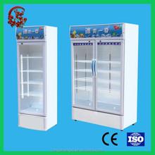 High performance top freezer multilayer coke fridge