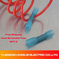 Conductor 1.5-2.5 mm2 16-14A.W.G new arrival Ce Rohs Splice Butt Heat Shrink Tube Joint and Connectors,Cold Pressed Terminal