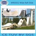 caliente la venta de fibra de vidrio de ancho balsas de agua de diapositivas para la venta con el ce