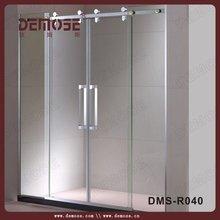 shower door moulding/bathtub glass shower door/extend shower door