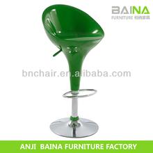 Wholesale swivel abs bar stool high chair sale