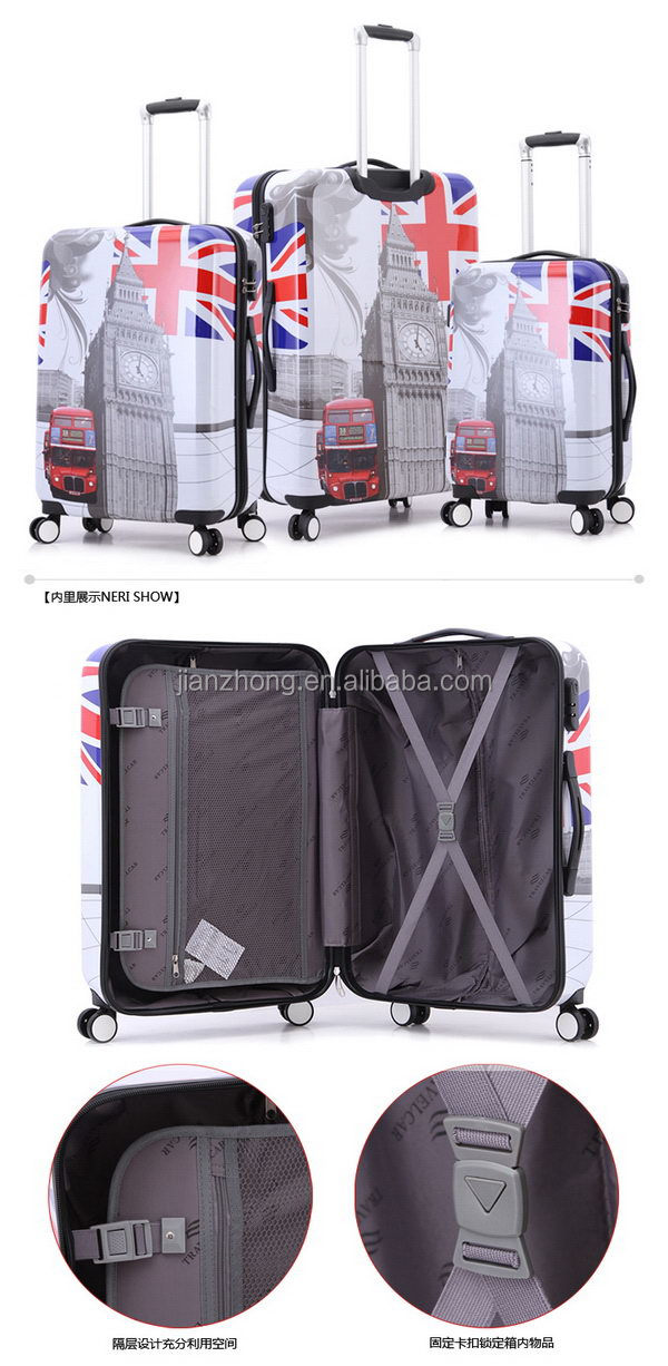 PCABS luggage 40 PC zipper(xjt)01