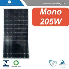 Solar Panels 205w monocrystalline, with solar micro inverter, for solar module system