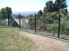 Flat Temper Glass Fence Panel from direct manufacturer