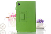 Stand pu folio leather case for Acer Iconia w4, for acer w4 case