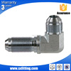 Lengthened Jic 74 Degree Male Cone Flared Elbow Fitting