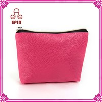 Wholesale custom leather pouch - pu leather cosmetic bag