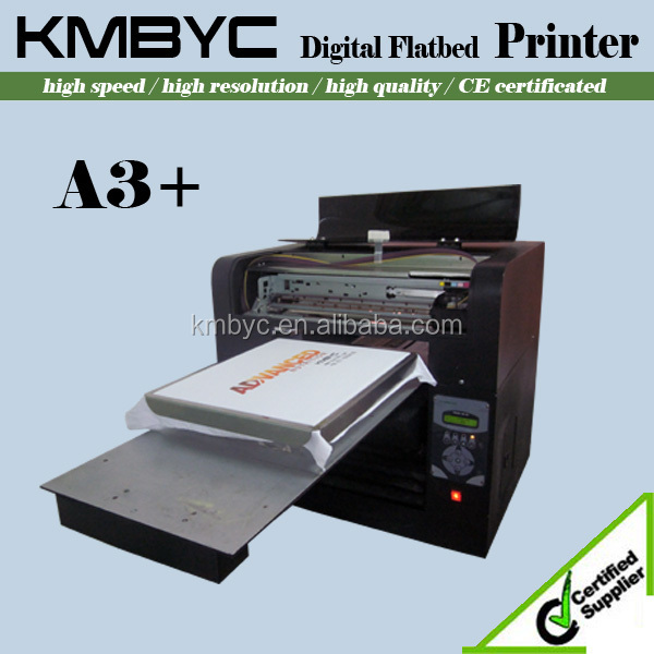 2015 top quality 6 color a3 size digital t shirt printing for T shirt printing machines prices