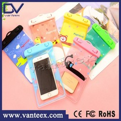 2015 new product mobile phone cartoon waterproof bag For Apple iPhone , for Galaxy , MP3 Player
