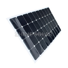 Amazing!Ready goods new energy fabric monocrystalline polycrystalline silicon flexible solar panel for 2015 SN-H120W