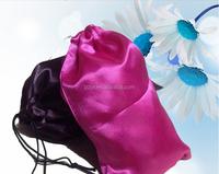 factory supply bags for hair packaging/custom satin hair bags