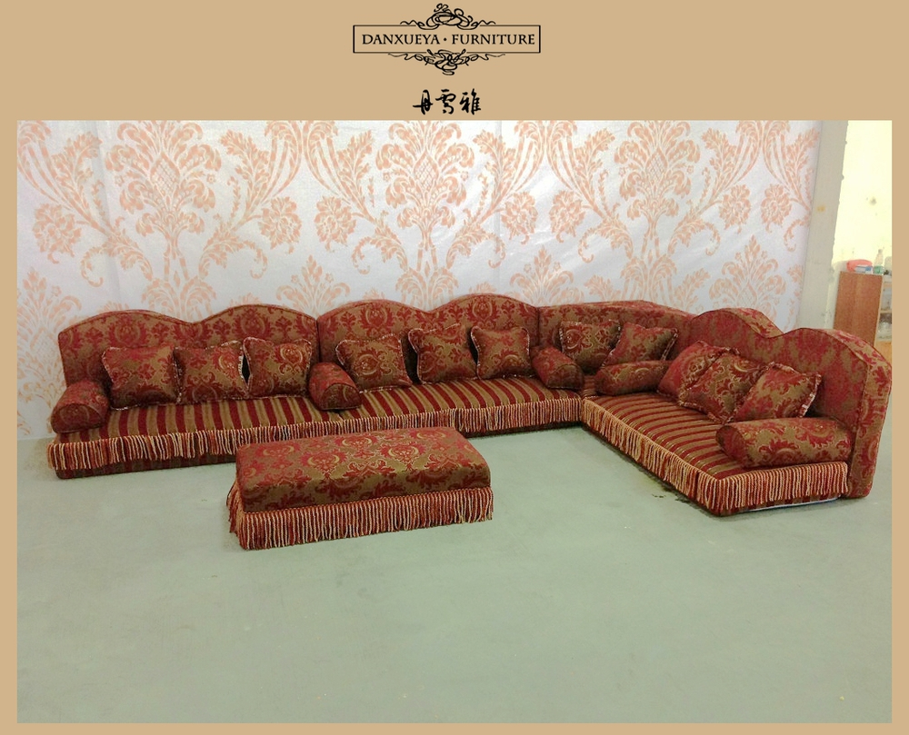 Arabic Traditional L Shape Corner Sofa In Fabric From China Foshan Furniture Buy 2014 Fabric