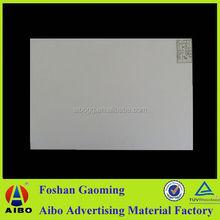 Rigid pvc foam sheet pvc sheet white for bathroom