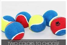 2015 dog toys colored tennis ball bulk tennis balls