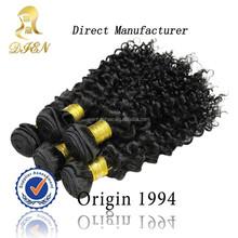 Kinky curly cabelo sintético pieces para as mulheres negras