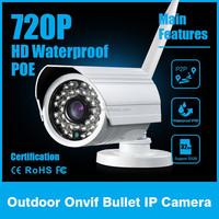ip camera cool cam 720p megapixel ip bullet camera infrared camera