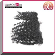 most selling products virgin human hair lace frontal piece