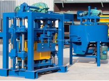 cement block making machine cost in myanmar QT40-2