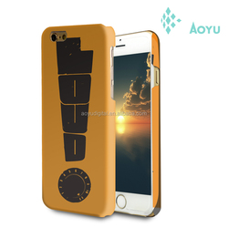China Supplier DIY 3D Sublimation Phone Case, 3D phone Case For Iphone 6 Case