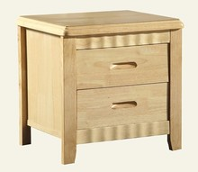 Wooden 2 drawer night stand/Bedside table /Endtable