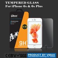 0.26mm 9H Hardness For iPhone 6 / 6 Plus tempered glass anti-broken screen protector