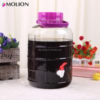 house use 1L clear glass wine make bottle,hot sale glass storage jars