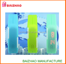 factory Cheap promotion ultra thin red light touch screen led watch for kids