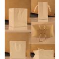 Blanco bolsa de papel kraft/de papel bolso de compras/reciclar bolsa de papel