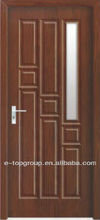 PVC wooden internal door ET-PG59