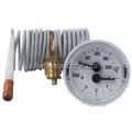 China alta qualidade de pressão de gás natural medidor de temperatura plástico capilar termômetro