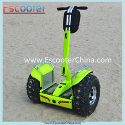 Patent portable hands free 2 wheel self balancing electric scooter