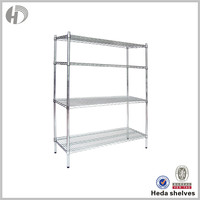 China Supplier Oem Metal Closet Wire Shelving