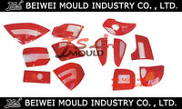 Car head lamp and rear lamp cover mould