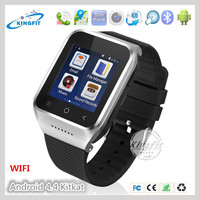 Perfect 512MB/ 4 GB 5.0MP Camera video chat android wifi wrist watch cell phone 3G with compass sensor G-sensor