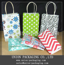 Wholesale paper shopping bag shopping paper bag paper gift bag