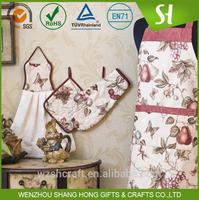 Beautiful ladies gardening apron/sexy girls cute cooking apron/wholesale custom apron