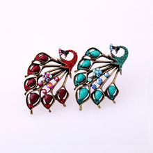 Stock Jewelry Market Patulous Peafowl Rings SJR#-38-a