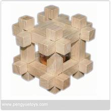 Iq jeux pour adultes, Jeu en bois Cube jouets éducatifs, Intelligent jouet