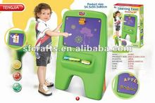 2013 new style plastic learning easel toys,tablet,desk,learning table