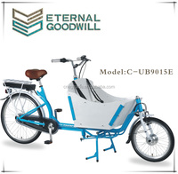 3wheels inner 3 speeds hub motor electric cargo bike/cargo tricycle bike/bakfiets adult electric tricycle UB9015E