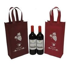 Wholesale OEM custom 6 bottles pack wine carrier bag