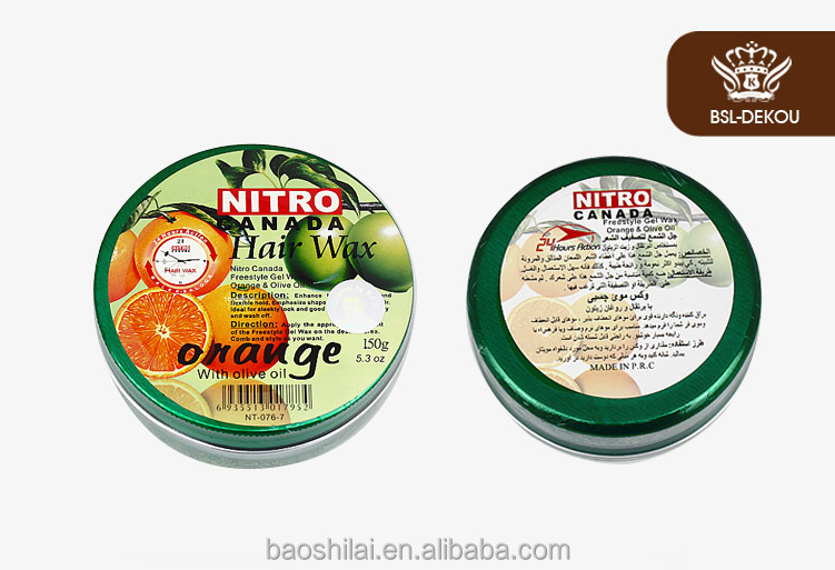 NITRO Professional Hair Styling Hair Wax Hot Sale Fruit Series