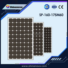 Best Price 160w Monocrystalline Solar Panel with A Grade Cell